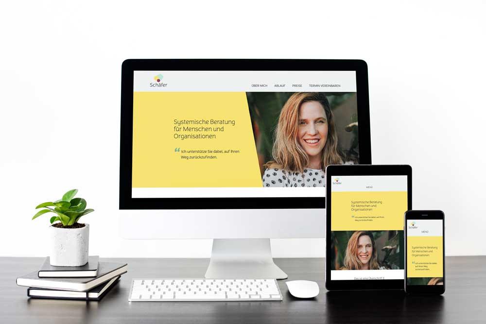 Webdesign Krickel Website für Coaches